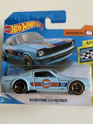 Hot Wheels 2020 * 65 Ford Mustang 2+2 Fastback GULF
