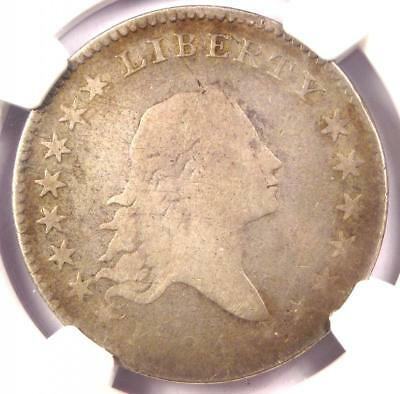 1794 Flowing Hair Bust Half Dollar 50C - Certified NGC VG Detail - Rare Coin!