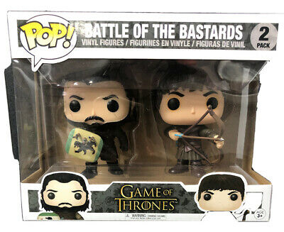 Funko Pop Game Of Thrones Battle Of The Bastards 2 Pack Jon Snow and Ramsay