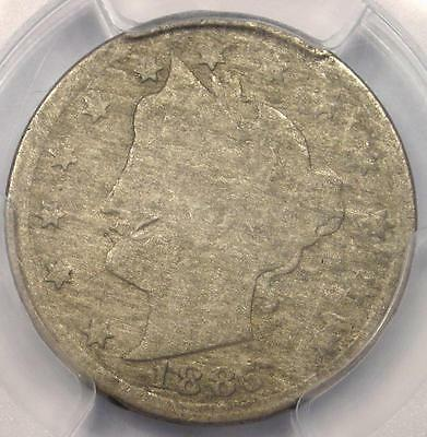 1885 Liberty Nickel 5C - PCGS Very Good Details (VG) - Rare Date Certified Coin!
