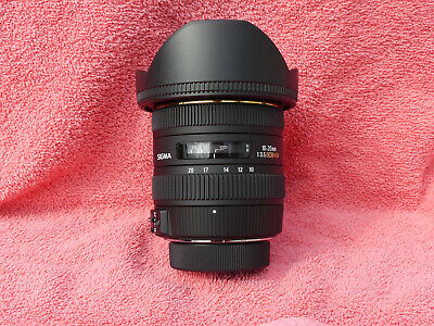 Sigma 10-20mm F3.5 EX DC for Nikon