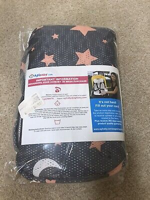Agibaby Premium 3D Mesh Cool Seat Liner for Stroller  Carseat - Stars NEW
