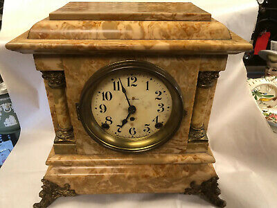 Antique Seth Thomas adamantine Mantle clock Nice Clock