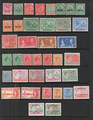 """Commonwealth """"St Kitts/Christopher/Nevis/Anguilla"""" Q Vic-QEII  Stamps MM  C31"""