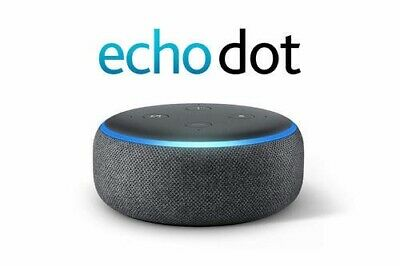 Echo Dot (3rd Gen) Amazon Smart speaker with Alexa - Charcoal Black NEW