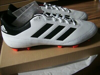 adidas goletto firm ground football boots fg size 12 mens adult new soccer WHITE