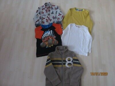 BOY'S 6 ITEM BUNDLE Age 2-3 Years Mini Boden,Next,JL, Rebel Blaze Assorted Tops