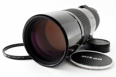 Nikon Ai-s Nikkor 300mm f/4.5 MF Telephoto Lens w/Caps Exc++ From Tokyo Japan
