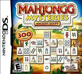 Mahjong Mysteries: Ancient Egypt, (DS)