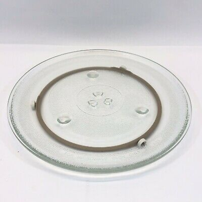 12 Inch Glass Microwave Dish With Roller Rotisserie