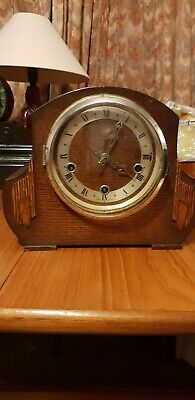 Antique  Enfield chiming mantle clock