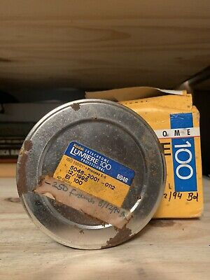 Kodak Ektachrome Lumiere 100 35m Expired 1995 Film 80 Foot Feet Bulk Roll