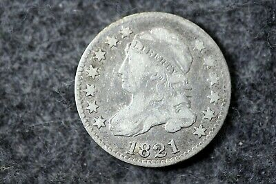 Estate Find 1821 - Capped Bust Dime!! #J07465