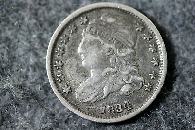Estate Find 1834 - Capped Bust Dime!! #J07417