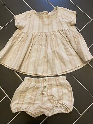 Rylee And Cru Girls Size 18-24 Month Striped Outfit Set