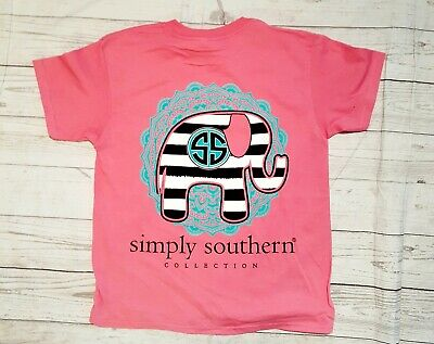 NWT Simply Southern Youth Sz. Medium Short Sleeve T-Shirt