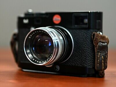 Voigtlander Prominent Nokton 50mm f1.5 with Leica M mount adapter