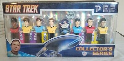 Sealed Star Trek TOS Pez Collectors Series 073621008953 Limited Edition