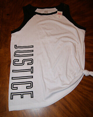 NEW- Girls JUSTICE Active Wear Top, size 18/20