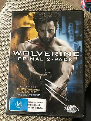 The Wolverine 2 Pack, Movies Collection R4 PAL LIKE NEW COND. Hugh Jackman
