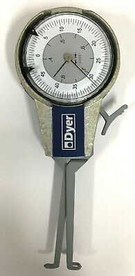 "Dyer 104-103 Intertest Dial Caliper Gage, .4-.8"" Range, .0005"" Graduation"
