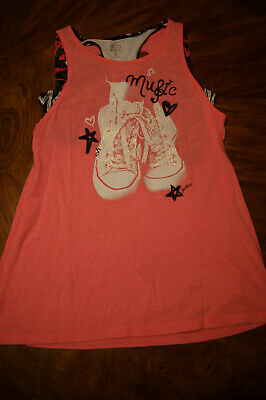 Girls JUSTICE Active wear Tank Top, size 18