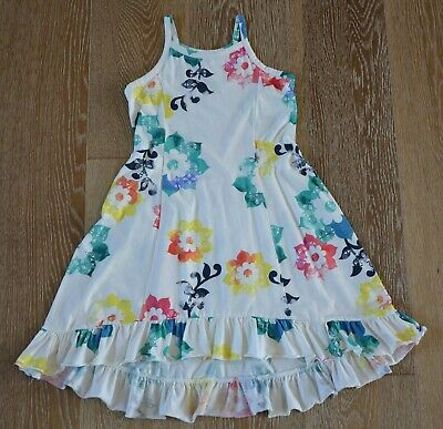 Tea Collection Girls Floral High Low Dress Size 6 NWOT