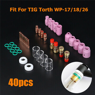 13N22 Collet WP9 WP 20 WP25 1//16 1.6mm TIG Welding Torch Consumables 10 Pieces