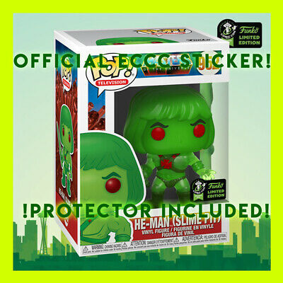 He-Man Slime Pit Masters Of The Universe Funko Pop 2020 Eccc Official Sticker !!