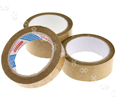 Brown Self-Adhesive Picture Frame Backing Tape Rolls of 24/38/50mm x 50m Length