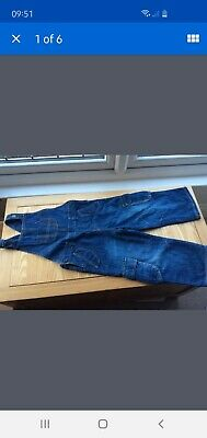 Boys denim dungarees Blue zoo Size 3 - 4 years Excellent condition