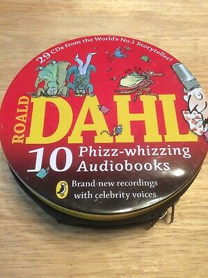 Roald Dahl (celebrity Voice Version) Audiobooks: 29 CDs in the tin Free Postage