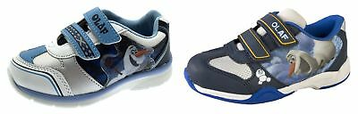 Disney Frozen Olaf Kids Sports Trainers Boys Girls Flat Casual Pumps Skate Shoes
