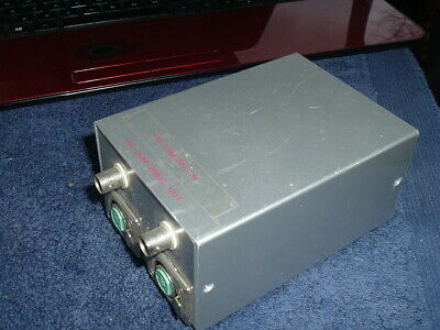 Microphone Input Step-Up Transformer Box with Tamura TF-5S Transformers