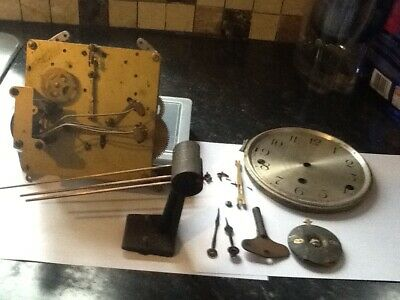 vintage clarion clock movement and parts spairs repair