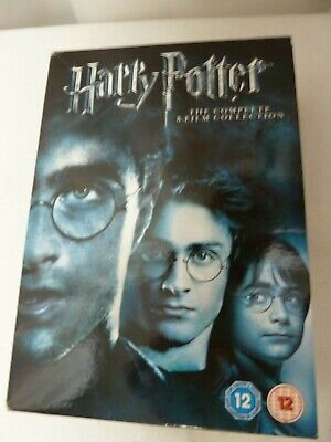Harry Potter Boxed Set DVDs 8 Film Collection