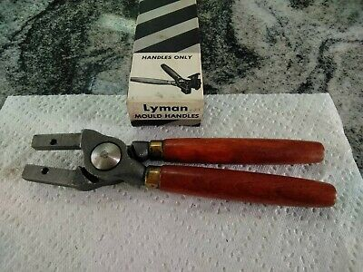 Vintage Lyman large Mold  handle for 2 cavity moulds, w/ box, excel. condition