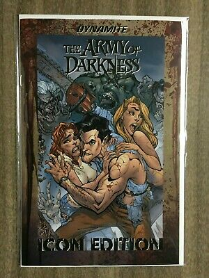 Death to the Army of Darkness #1 J Scott Campbell 1:60 Icon Variant NM