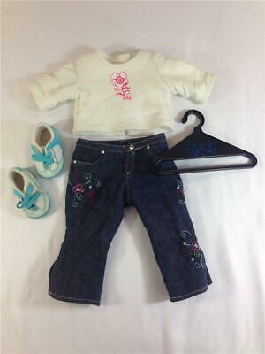 American Girl Doll Just Like You Ready For Fun Retired Outfit Lot #2
