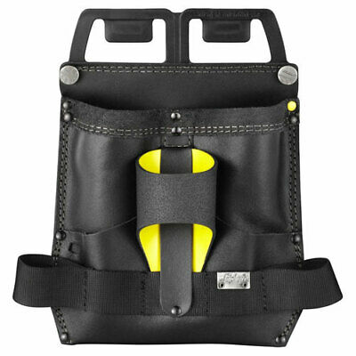 Snickers Leather Carpenters Tool Pouch Black