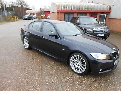 BMW 318d Edition M Sport 08/08 HEATED LEATHER SAT-NAV SPECIAL ALLOYS VGC
