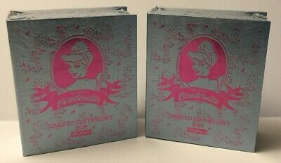 Skybox Disney Cinderella Limited Edition Box Set Of 50 Cards Sealed - Lot Of 2