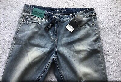 Next Jeans Straight High Leg Size 8