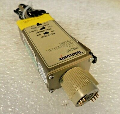 "Tektronix P6247 1GHz Differential Probe (50Ω, 25VDC, 10X, 1pF) ""AS-IS"""