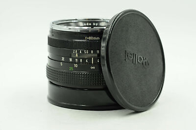 Rollei 80mm f2.8 HFT Planar Lens 80/2.8 for SLX and 6000 Series Cameras     #176