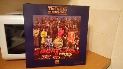 The Beatles - Sgt Peppers Lonely Hearts Club   (Hmv Cd Box 1987)