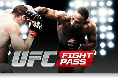 UFC Sports Fight Pass Premium Live Account Access Subscription | 1 Year