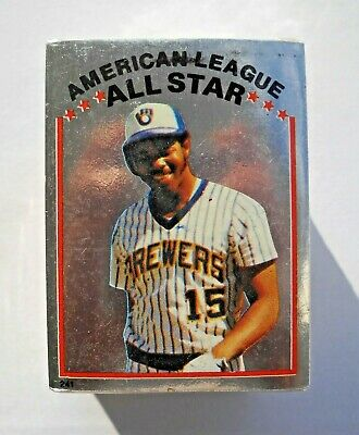 1981 Topps MLB Baseball Sticker Set, Factory Sealed (262 Cards)