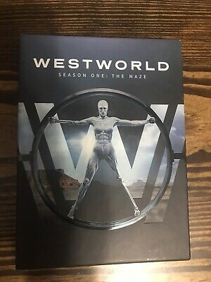 Westworld: The Complete First Season (DVD, 2017) The Maze Western Robots Syfy