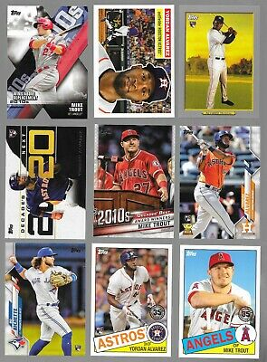 2020 Topps Series 1 Baseball COMPLETE MASTER SET 635 CARD SET WITH INSERTS SETS
